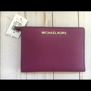 NWT Michael Kors Leather Wallet